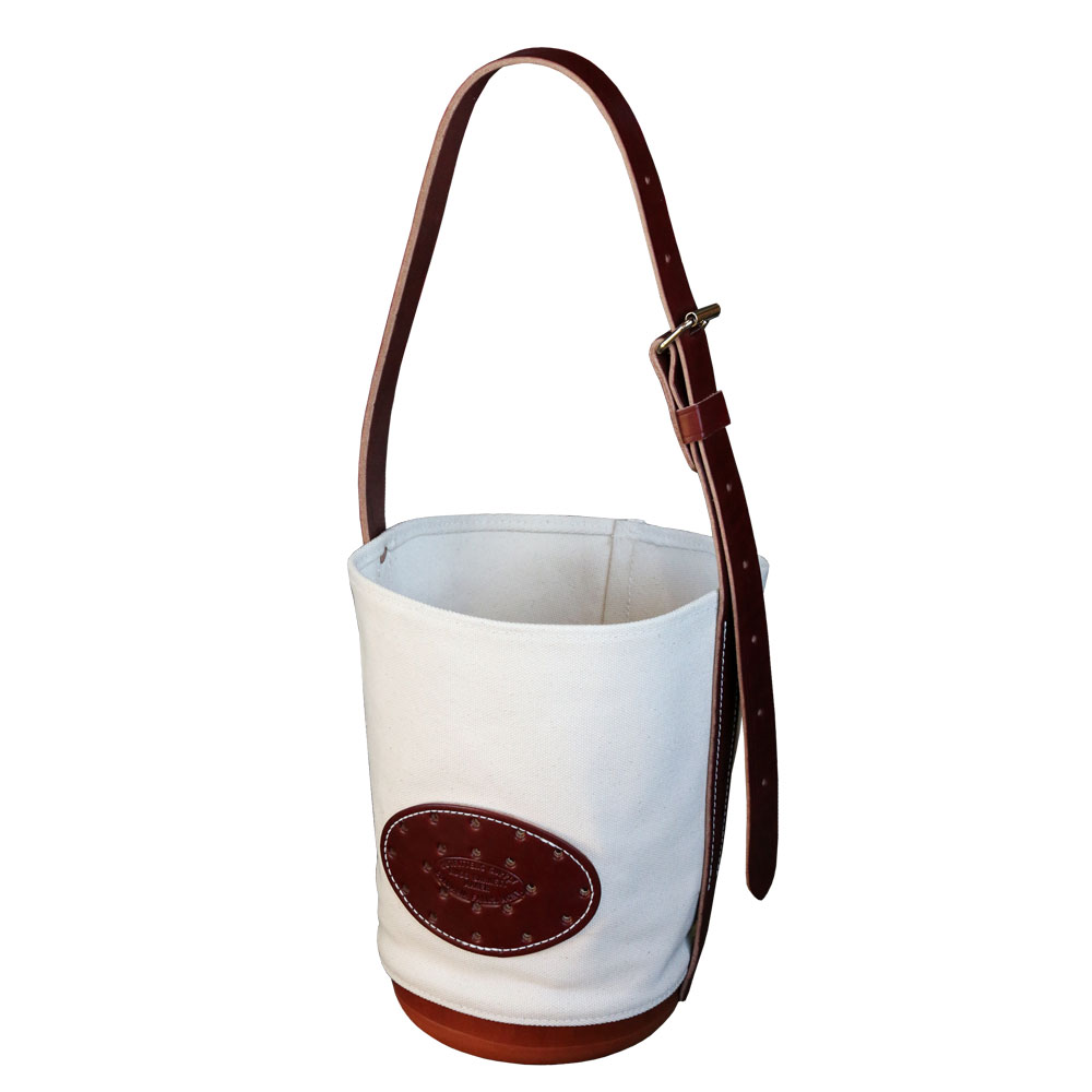 Classic Canvas Leather Feedbag For Horseules