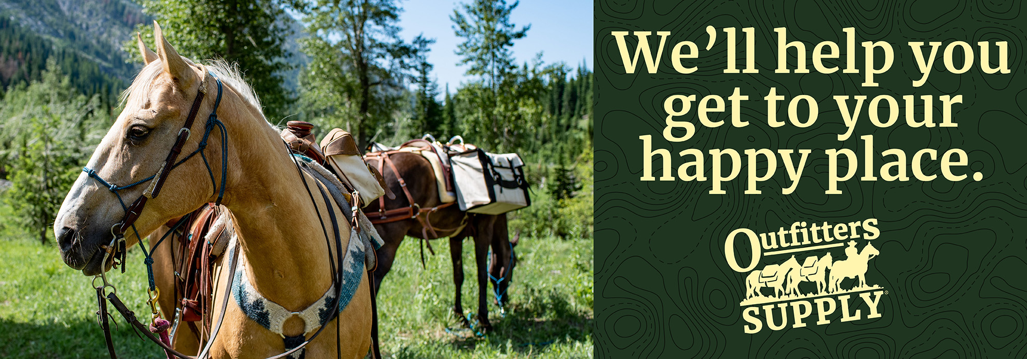 Outfitters Supply | Tack, Saddles, Horse Packing Gear, Trail Riding