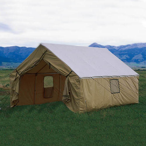 Custom 10 x 12 Wall Tent by Montana Canvas & Custom 10 x 12 Wall Tent by Montana Canvas-outfitterssupply.com