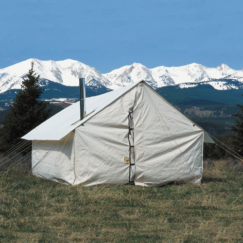 Montana canvas wall tents for How to build a wall tent