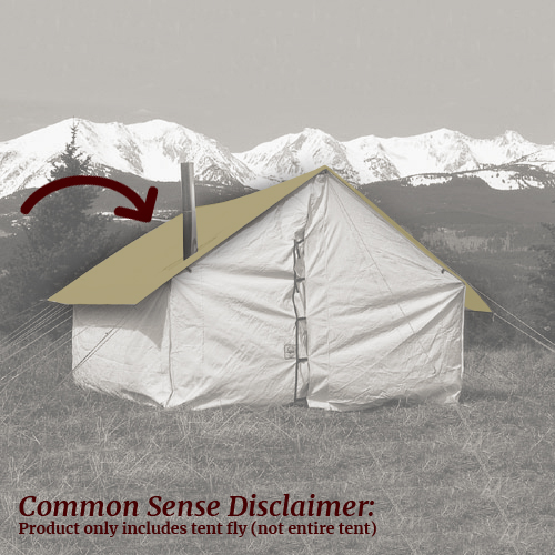 Wall Tent Fly by Montana Canvas & Wall Tent Fly by Montana Canvas-outfitterssupply.com