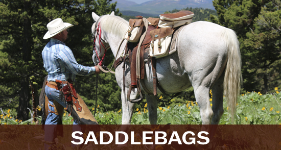 Western and English Horse Saddlebags