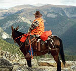 Orange TrailMax Saddlebag can help you be seen in the backcountry