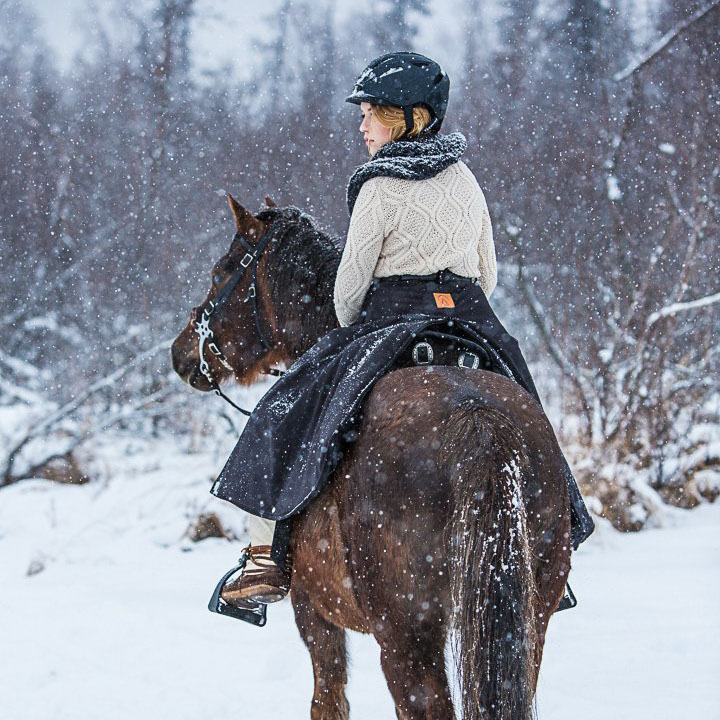 Arctic Horse Insulated Riding Skirt