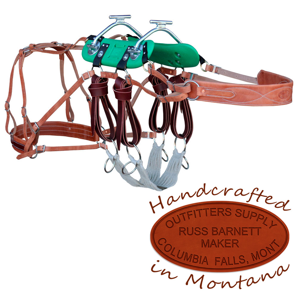 Sawbuck & Decker Pack Saddles | Adjustable Tree Pack Saddles