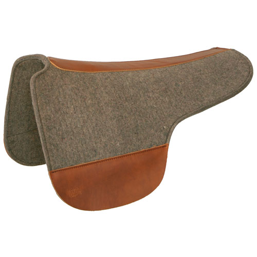Tucker Contoured Round Skirt Saddle Pad Outfitters Supply
