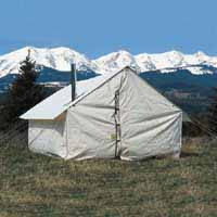 Montana Canvas Wall Tents and Spike Tents available at Outfitters Supply.