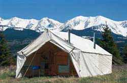 Montana Canvas Wall Tent Cookshack : montana wall tents - memphite.com
